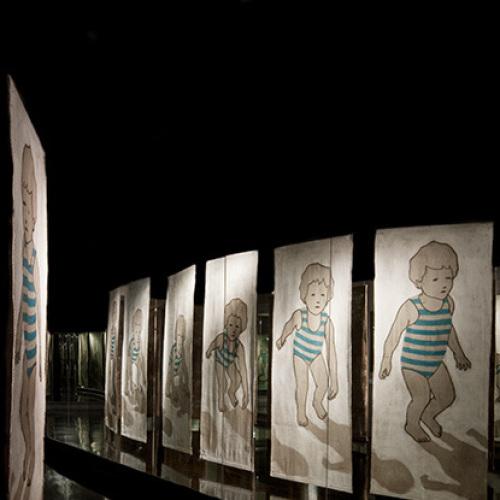 Al Blu di Prussia, Valerio Berruti artista all'ombra dell'infanzia
