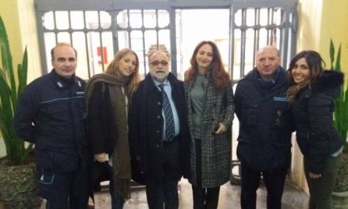 Aversa, la visita del garante Samuele Ciambriello ai detenuti