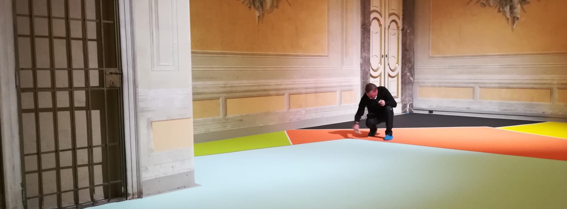 La mostra di Marco Casentini alla Reggia di Caserta