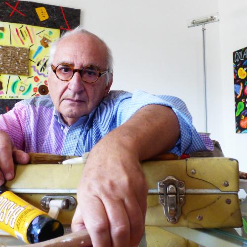 «Colorful», l'artista Bruno Donzelli fa tappa nella Capitale