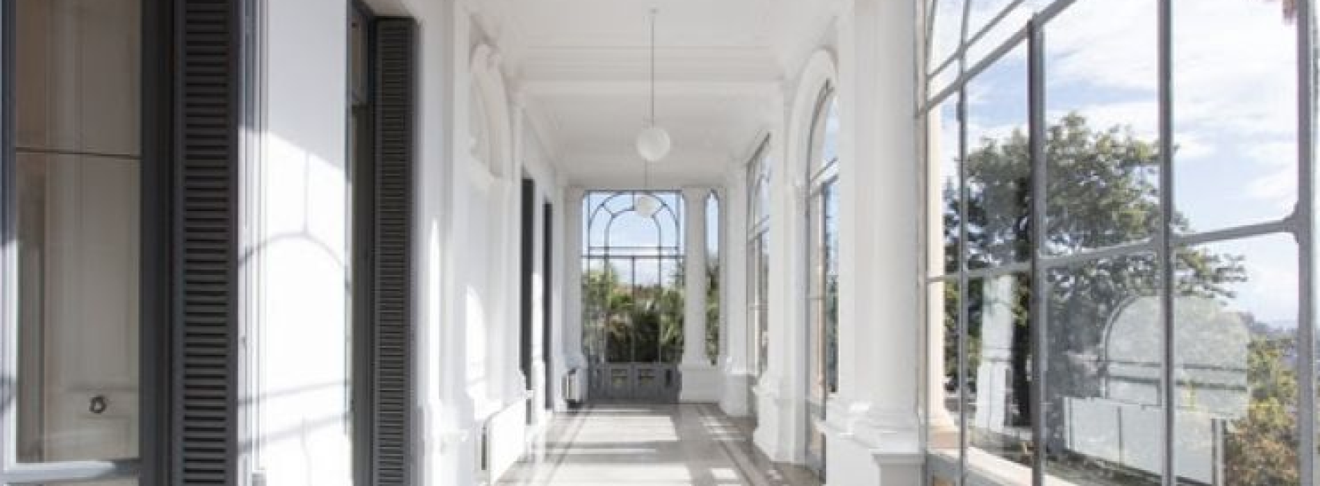 La galleria d'arte di Thomas Dane a Casa Ruffo