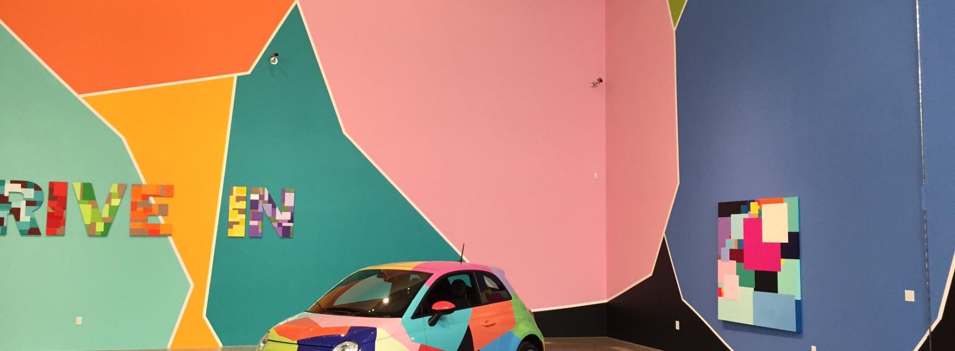 Drive in. La mostra di Marco Casentini alla Reggia di Caserta