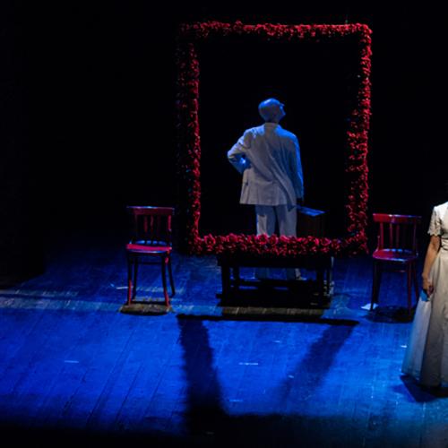 Teatro Civico 14. Ria Rosa, la sciantosa del Cafè Chantant