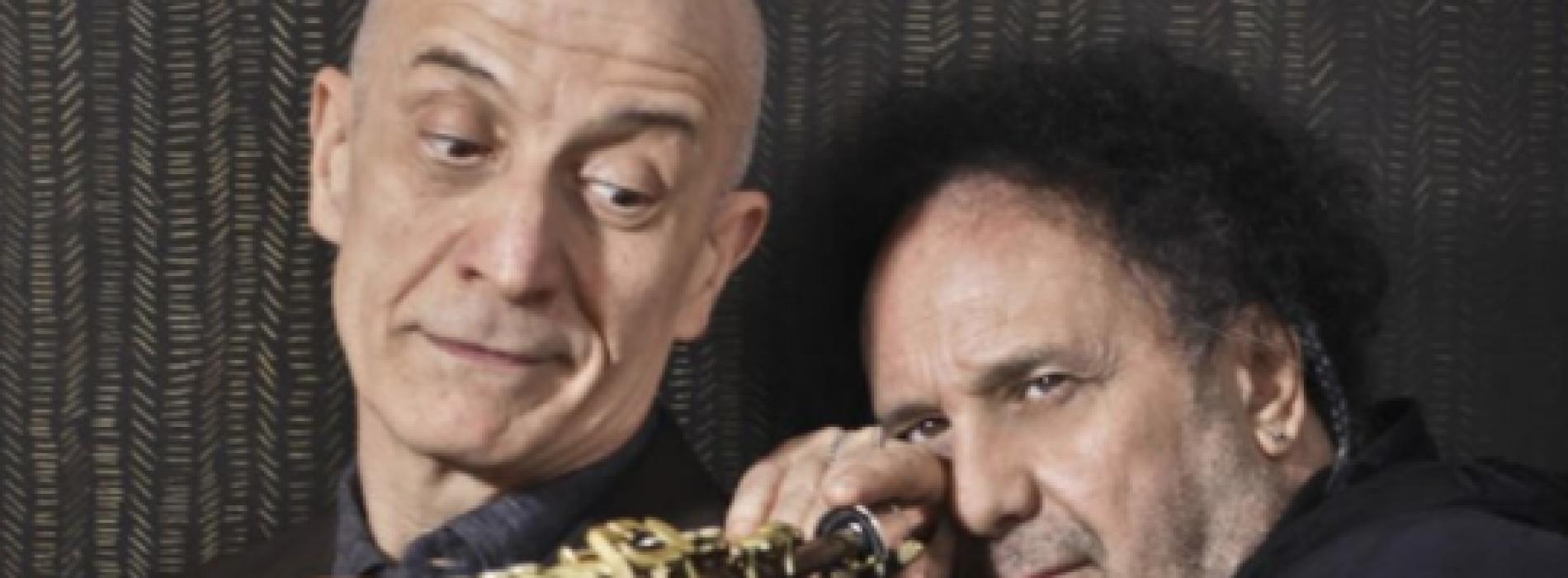 Enzo Avitabile e Peppe Servillo, una coppia d'assi a Sanremo!