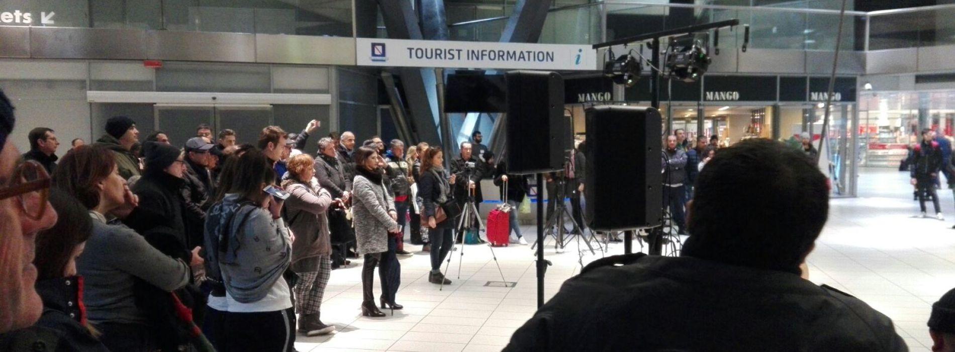 Deportati, arriva alla stazione di Caserta il teatro itinerante