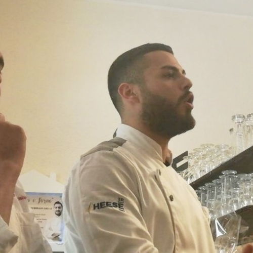 Chef stellato in Casa Vitiello. La base è la pizza, s'arriva al top