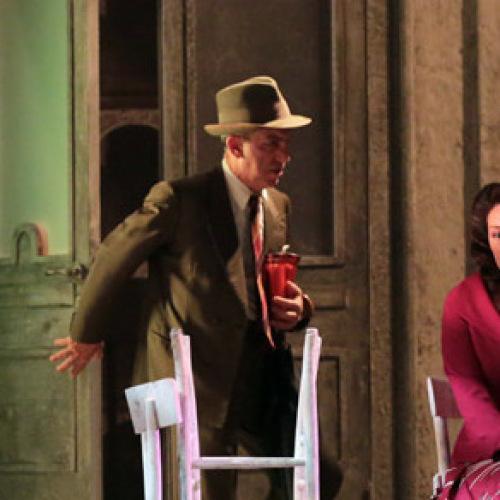 Al Salotto a Teatro la Compagnia del Teatro di Luca De Filippo