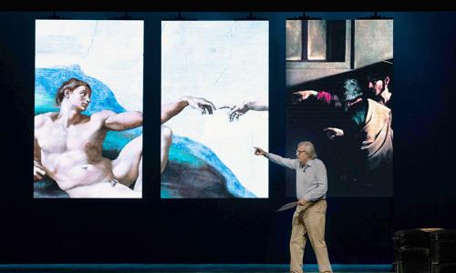 Caserta, arriva Michelangelo in scena. Firmato Vittorio Sgarbi