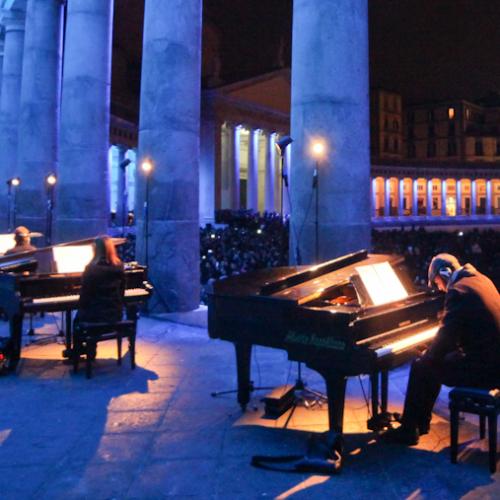 Piano City Napoli. In 50 mila per celebrare il pianoforte