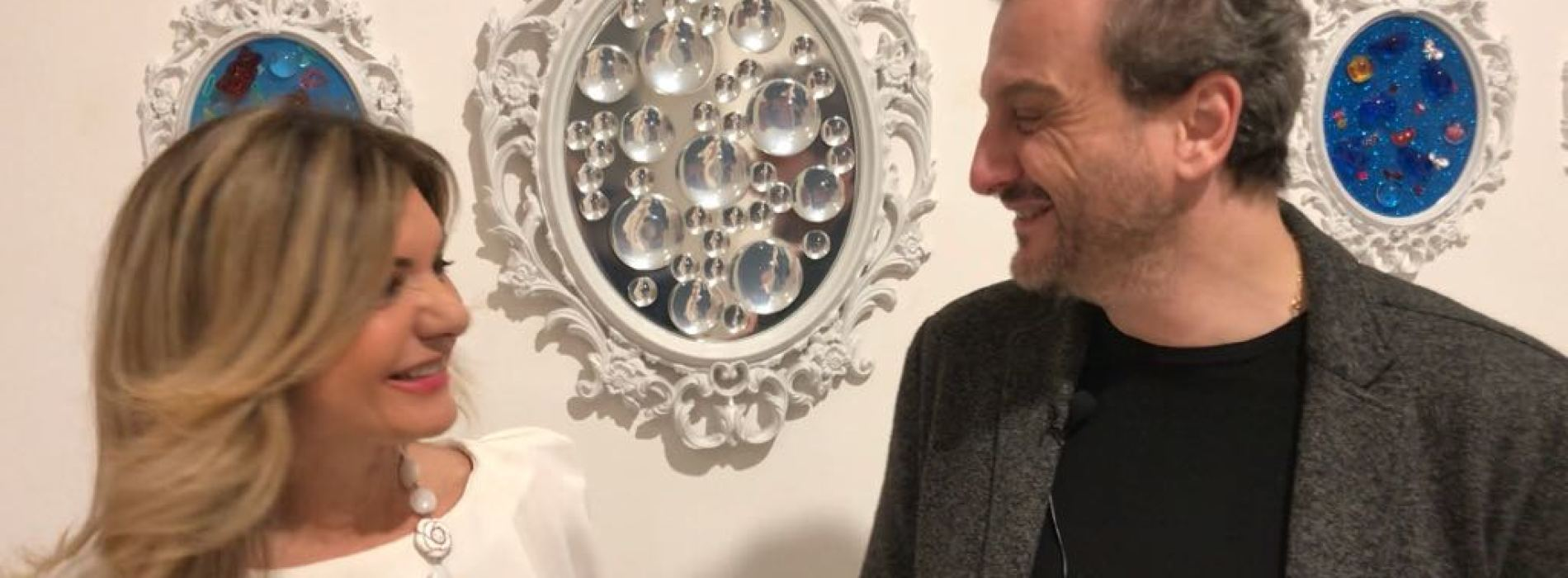 L'artista Kicco a Caserta alla Galleria Arterrima