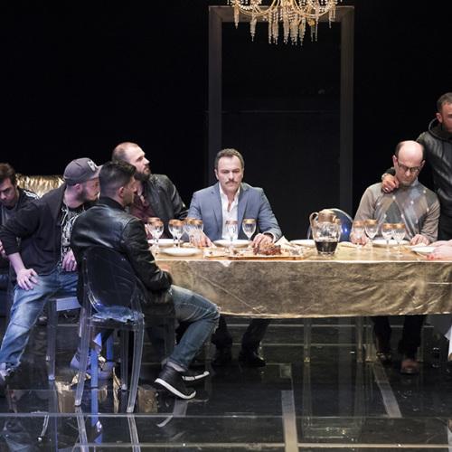 Il Salotto a Teatro con Il Sindaco del rione Sanità