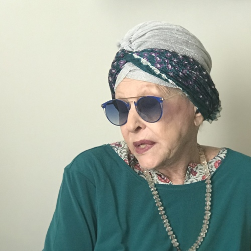 Barbara Rose a Caserta. Mostra alla Reggia