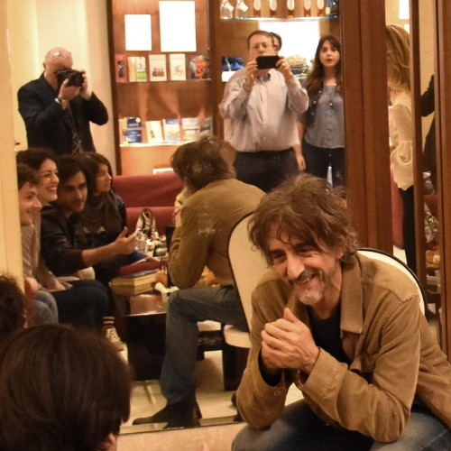 Drink e photocall, Rubini e Lo Cascio al Comunale di Caserta