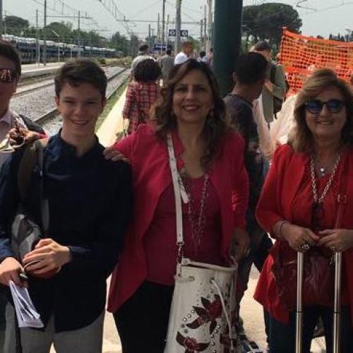 Salpa la Nave della Legalità, a bordo l'Itis Giordani di Caserta