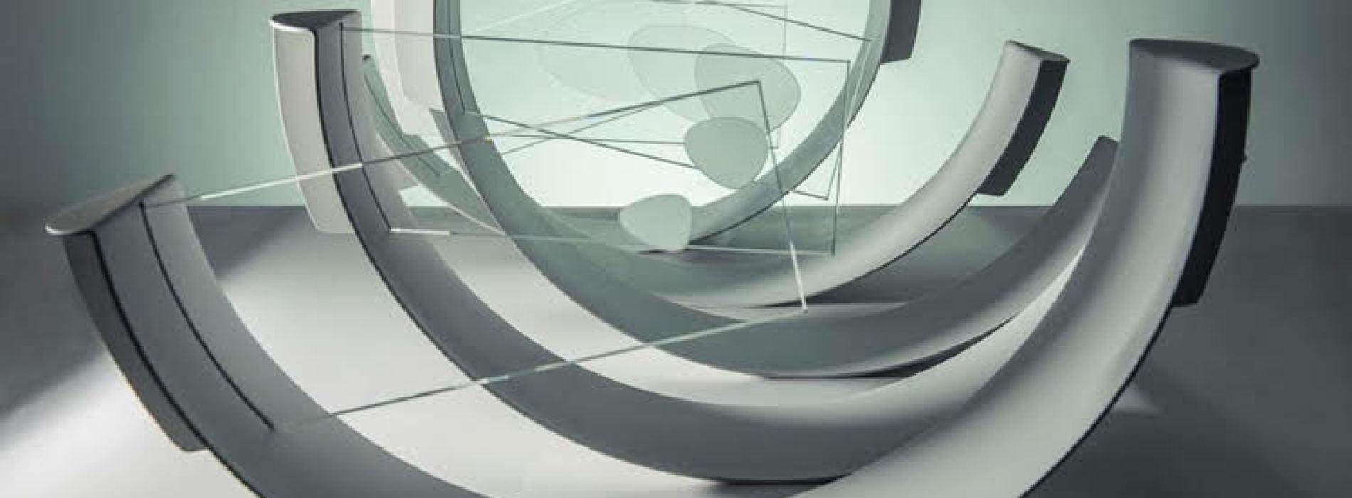 Caserta, con Max Coppeta l'optical art entra a Palazzo (Reale)