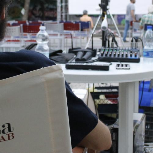 Caserta Film Lab, il cinema si fa sull'erba di Villetta Giaquinto