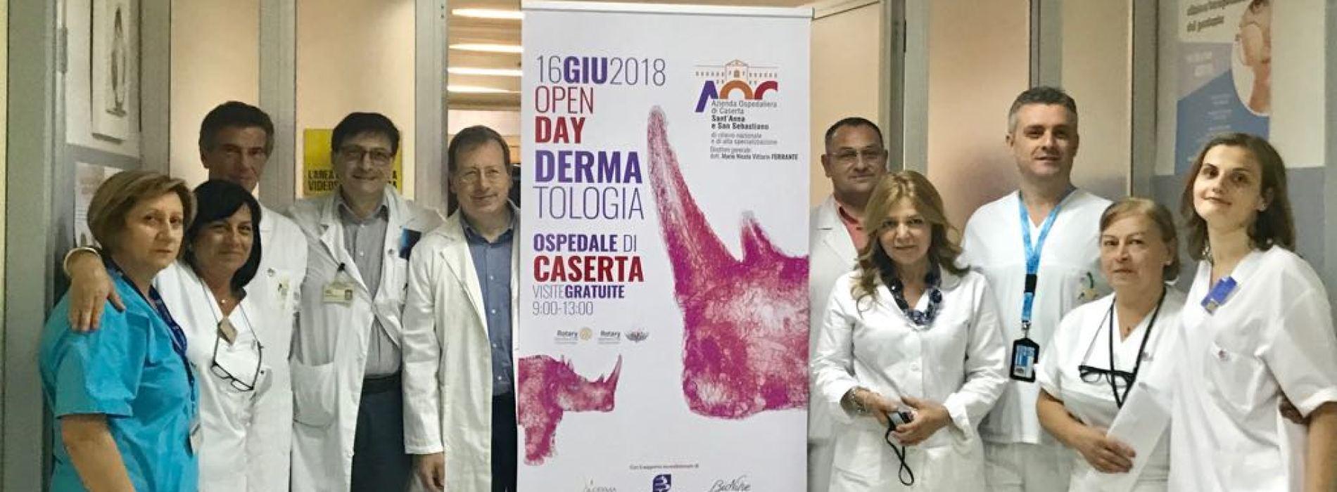 DermoDay all'ospedale di Caserta. Che apertura straordinaria!
