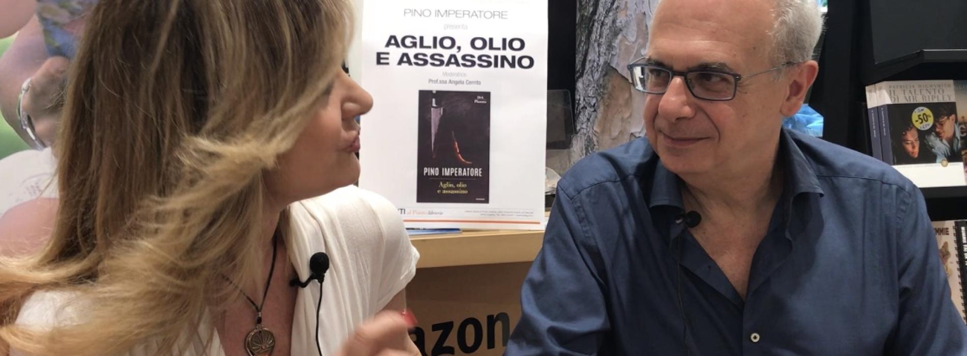 Pino Imperatore a Caserta alla Libreria Giunti al Punto