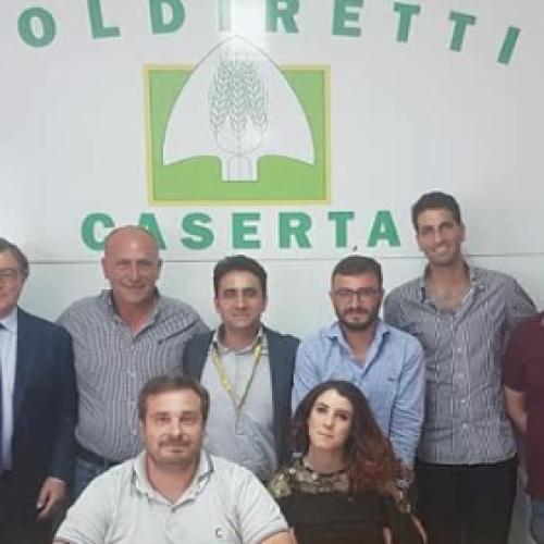 Coldiretti Caserta. Manuel Lombardi presenta la sua squadra