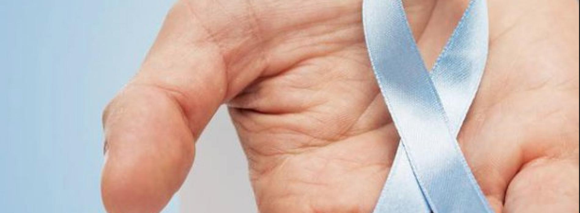 Lilt, la Reggia in azzurro per la prevenzione ai tumori maschili