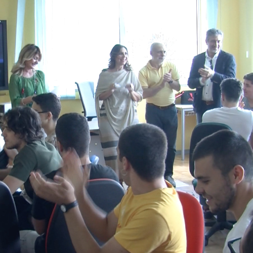 Tv Giordani. Coworking, all'Itis consegnate le Wild Card