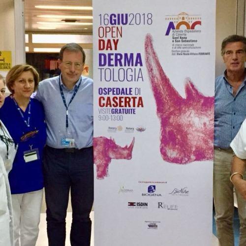 Open Day per la Dermatologia a Caserta, parola di rinoceronte