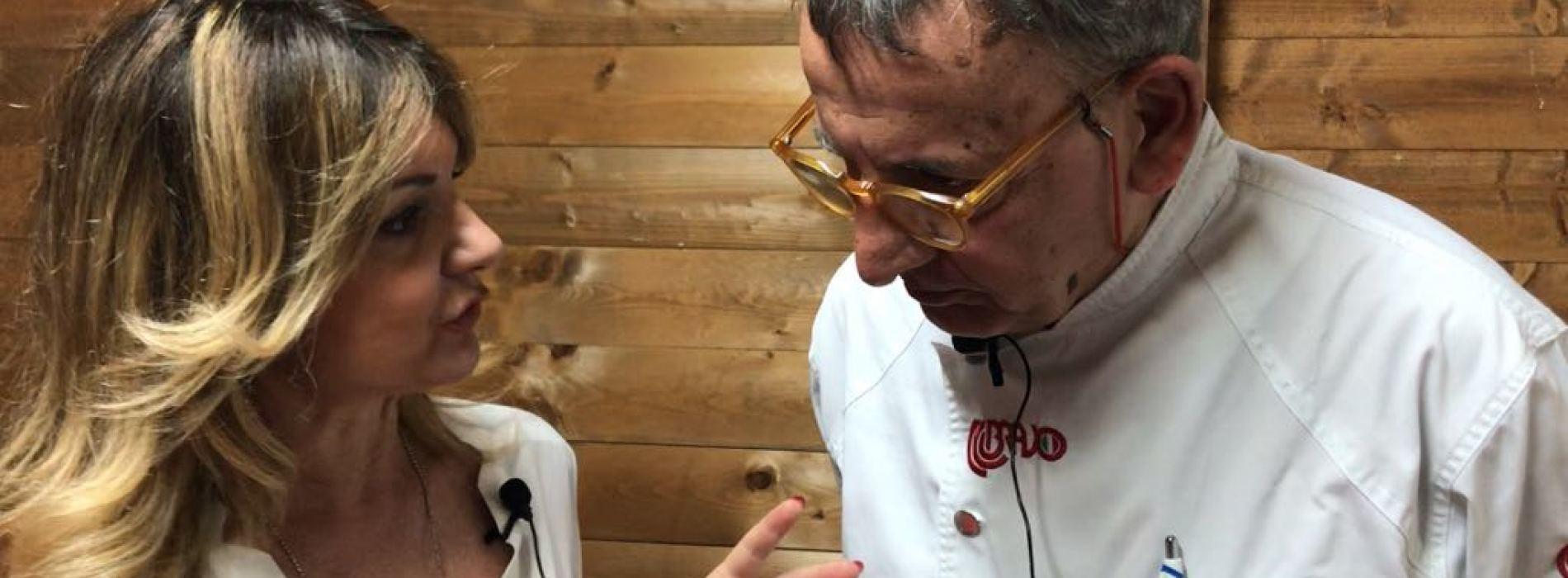 Festa del gelato artigianale a Caserta. Angelo Grasso, maestro gelatiere