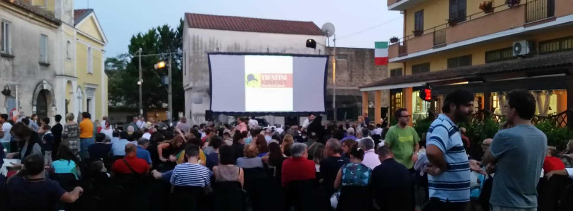 Tifatini Cinema. In estate a Caserta i film si vedono in collina