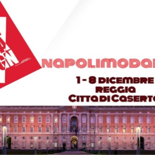 La Reggia protagonista per Aspettando Napoli Moda Design