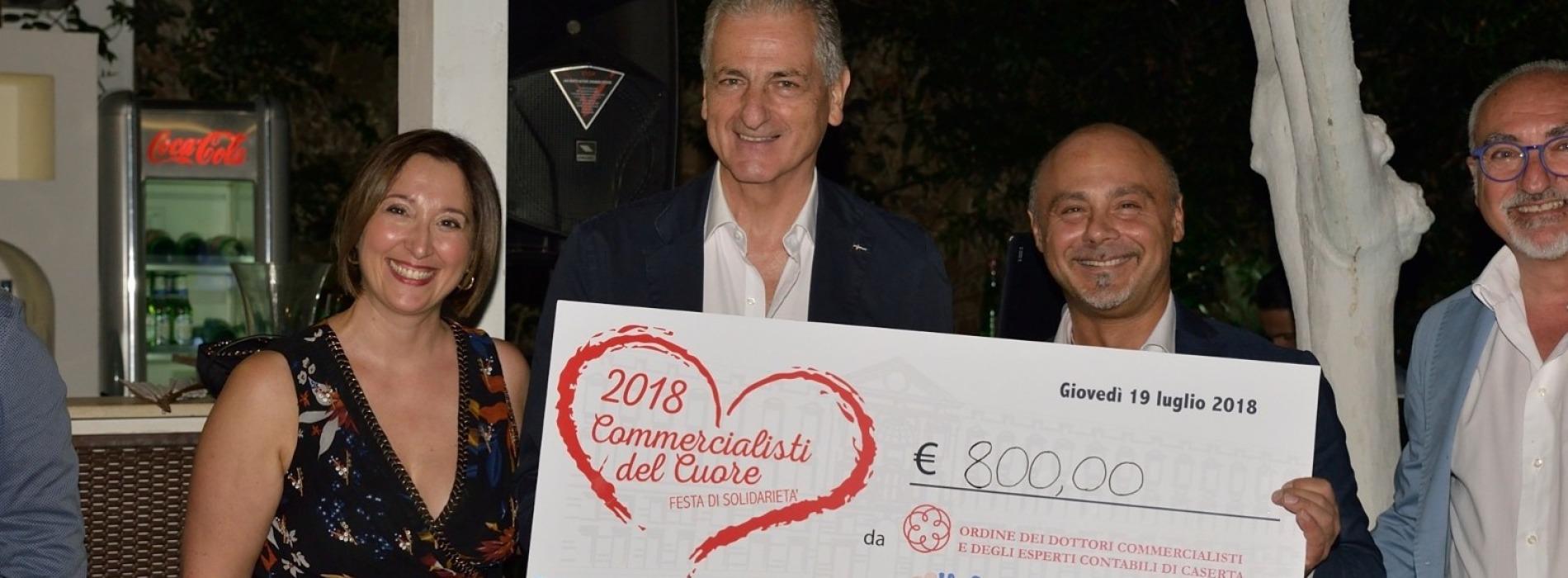 Caserta, fa festa il cuore dei commercialisti. Donati 800 euro