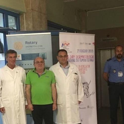 Caserta, il DermoDay dell'Ospedale una vera vittoria di gruppo