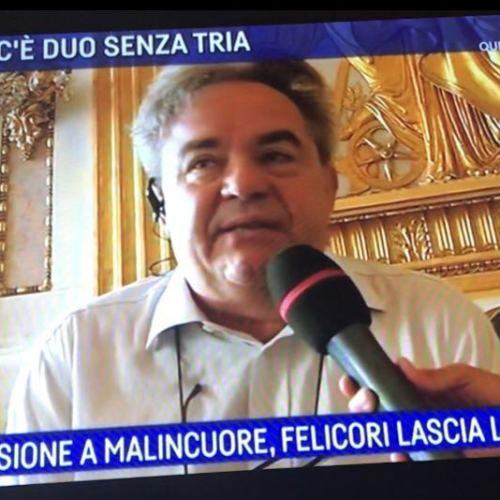 """Mauro Felicori ad Agorà su Raitre: """"Io non farò il pensionato!"""""""