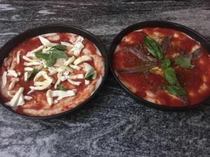 La pizza nel ruoto di Bronzetti, Castel Morrone