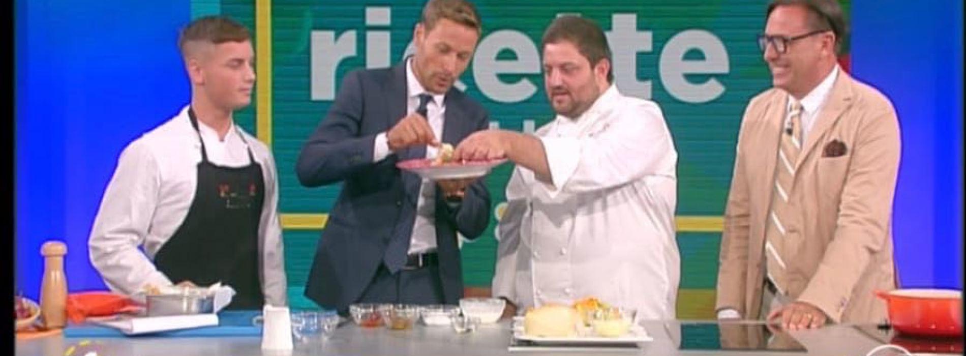 Gianmarco Cirrone, giovane chef casertano alla corte di Rai 1