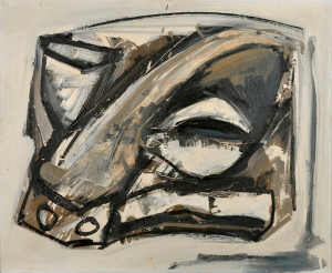 Antonio Saura - Retrato, 1961
