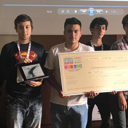Premio Scuola Digitale. Il Giordani vince la fase regionale