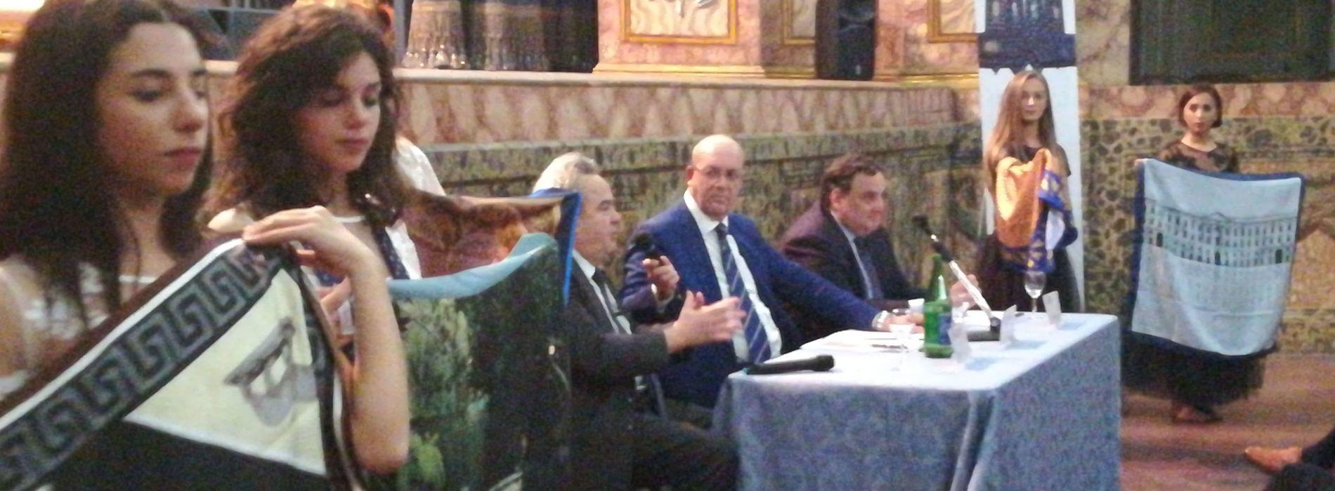 Reggia style, cravatte e foulard di Ugo Cilento targate Caserta