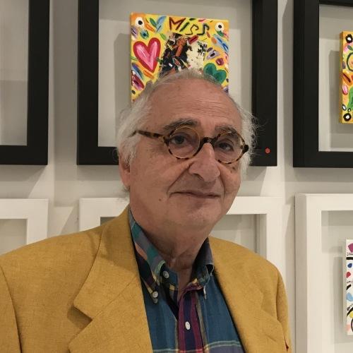 Brindisi con Bruno Donzelli alla galleria Arterrima