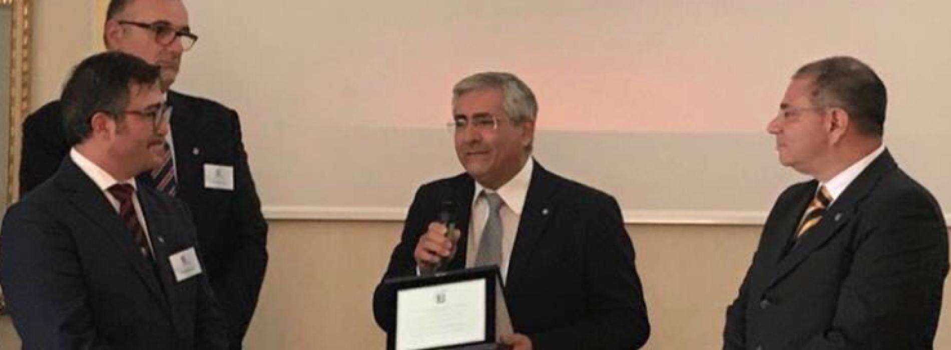 Medicina Caserta, al presidente Monda il Premio Mario Fiore