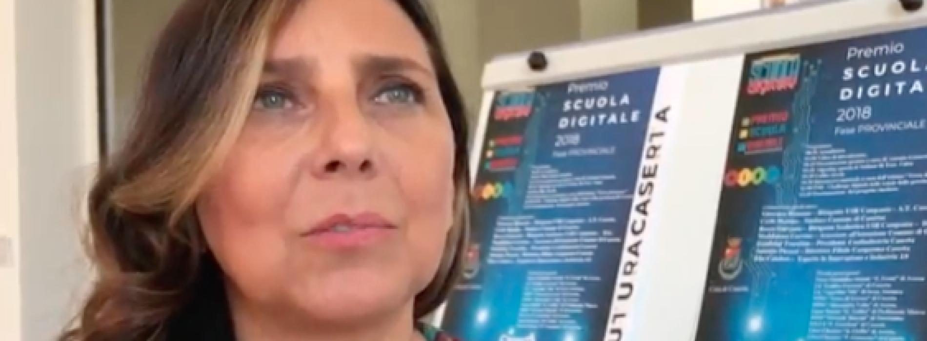 Premio Scuola Digitale. Antonella Serpico, Giordani Caserta