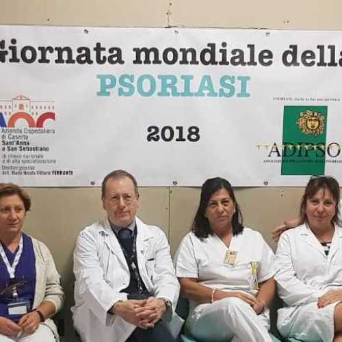 World Psoriasis Day, porte aperte in Dermatologia a Caserta