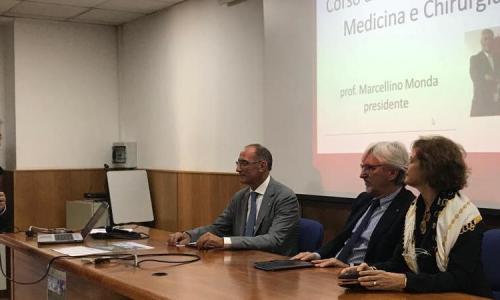"""Marcellino Monda: """"A Caserta si formano i medici del futuro"""""""