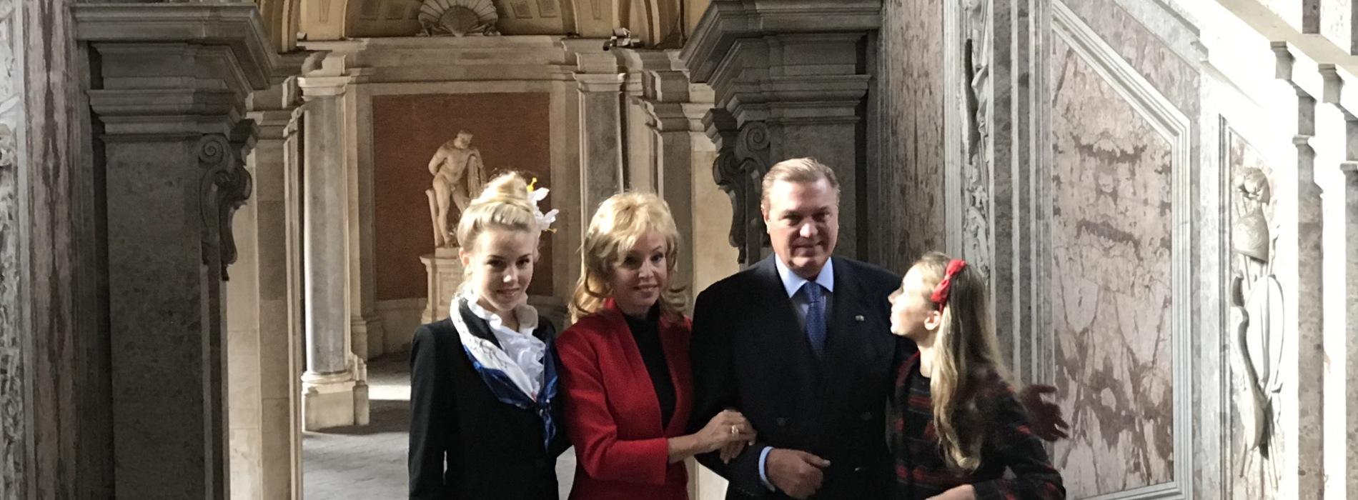 Carlo e Camilla di Borbone a Caserta, nei loro cuori la Reggia
