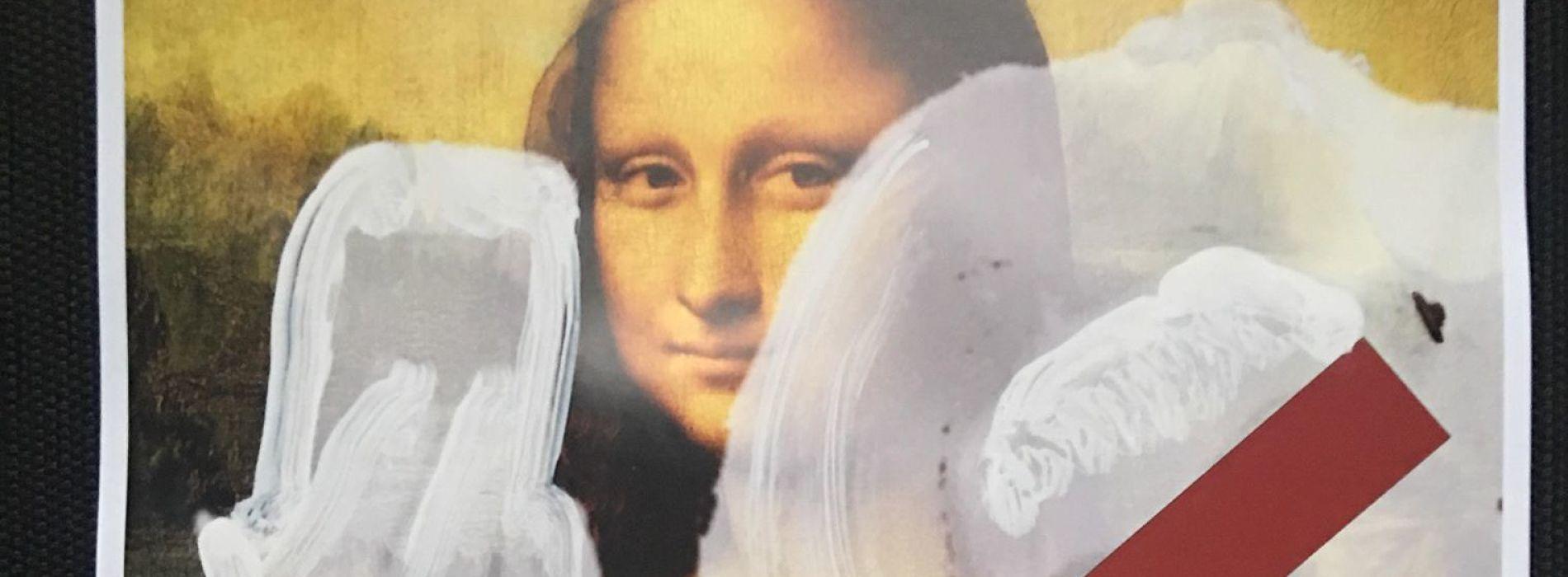 Massimiliano Sbrescia, un selfie davanti ai capolavori dell'arte