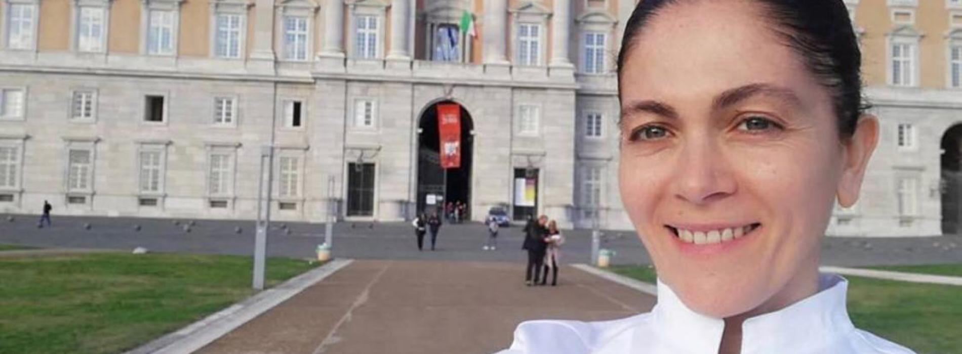 A cena con la stella, Rosanna Marziale alla Reggia di Caserta