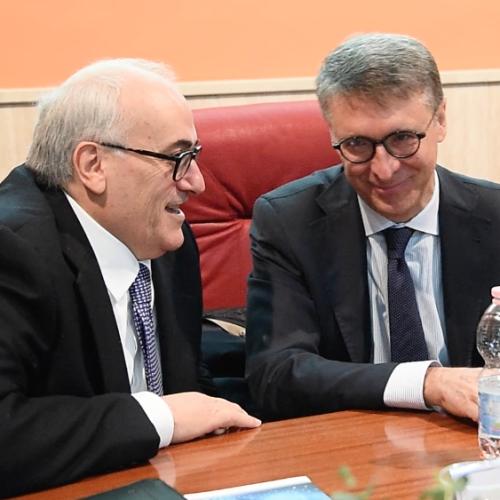 Intervista al presidente dell'Anac Raffaele Cantone