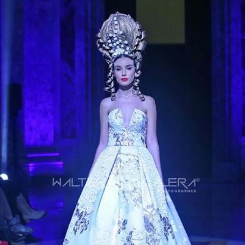 Alta moda alla Reggia di Caserta, fashion show per Del Prete