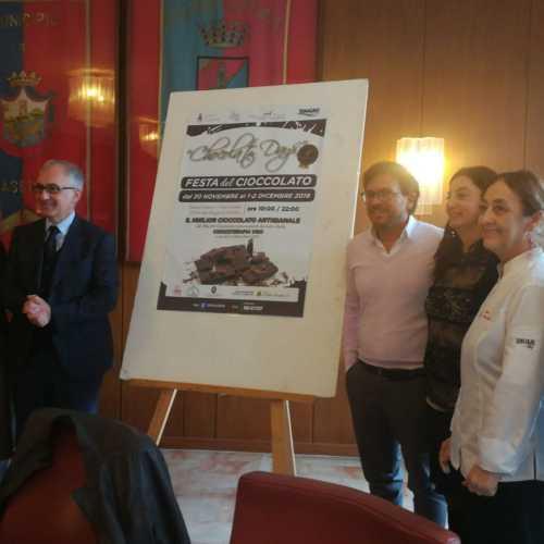 Festa del cioccolato a Caserta. Emiliano Casale, assessore agli Eventi