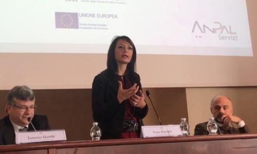 Lavoro, l'assessore regionale Sonia Palmeri a Caserta