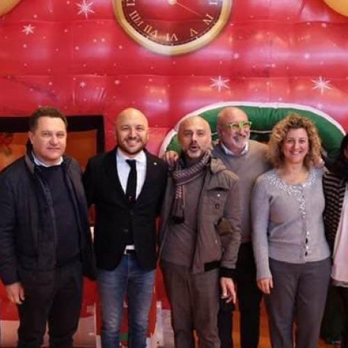Caserta. Festa di Natale per i piccoli commercialisti